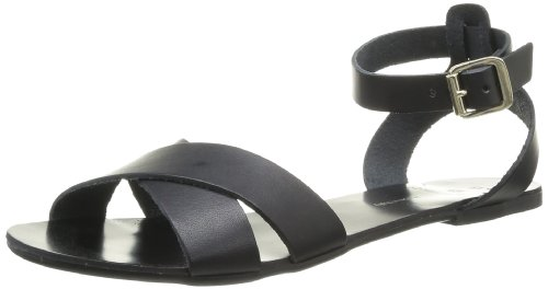Pieces - Sandali Sara, Donna, Nero (Noir (Black)), 39