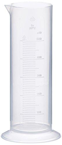 neoLab E-4038 Messzylinder, niedrige Form, runder Fuß, PP, 500 mL
