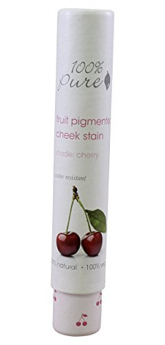 100% Pure Lip and Cheek Stain, Cherry by 100% Pure