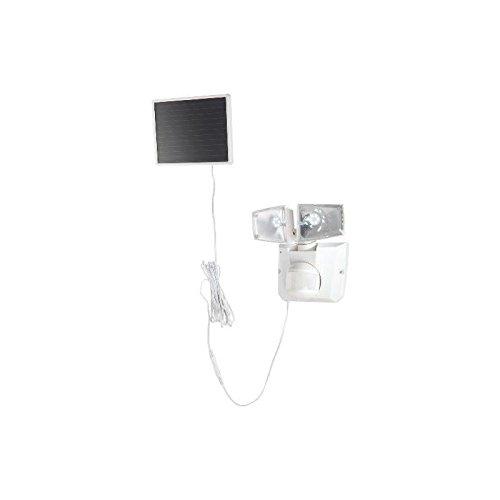 Descripción: Lámpara solar para uso en exteriores. Potente foco externo con 12 bombillas LED. Ideal para iluminar la entrada, patio o patio delantero. El detector de movimiento detecta personas de hasta 12 m de alcance. La bombilla LED está incluida....