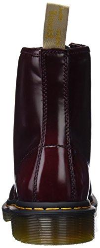 Dr. Martens Unisex Adults' Vegan 1460 Classic Boots, Cherry Red Cambridge Brush 600, 6 UK (39 EU)
