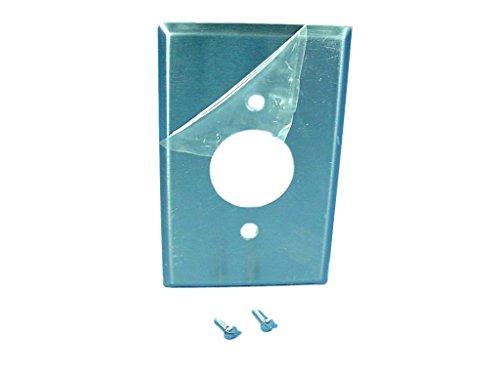 Cooper verkabelungsgeräten 93991Wanddose Single mit 3,6cm Behälter Loch Midway (Wiring Cooper Single)
