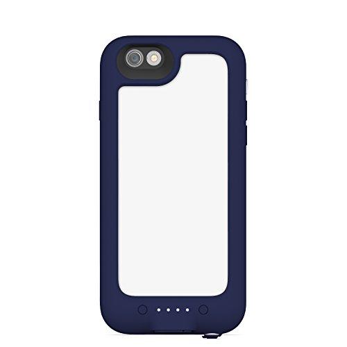 mophie Juice Pack H2PRO Coque-Batterie Étanche pour iPhone 6 Noir Bleu