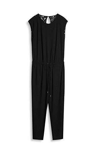 ESPRIT Damen Jumpsuit Schwarz (Black 001)