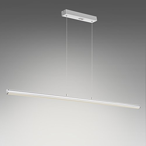 LED-Pendelleuchte  <strong>Farbe Schirm</strong>   Satiniert
