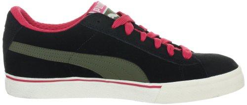 Puma Puma S Low City, baskets sportives homme Noir - Schwarz (black-burnt olive-teaberry 02)