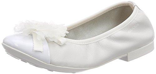 Geox Jr Plie' B, Ballerine Bambina, Bianco (White), 37 EU