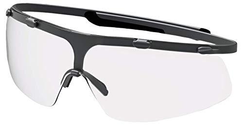 Uvex Super G Schutzbrille - Supravision Sapphire - Transparent/Schwarz