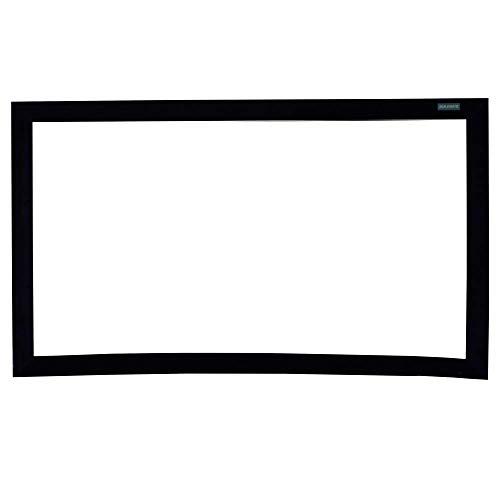 DisplayMatic - Pantalla proyección curva 16:9 pared