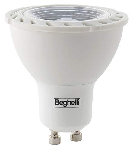 BEGHELLI LAMPADINA A LED 56969 GU10 W4 LUCE FREDDA NEXTRADEITALIA Confezione da 10PZ