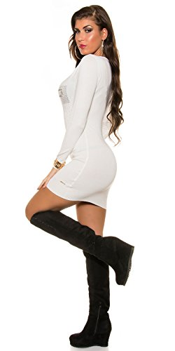 In-Stylefashion - Robe - Femme blanc ivoire taille unique Ivoire
