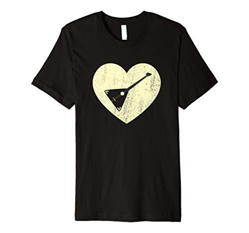 Love to Play the Balalaika Musiker Geschenk T-Shirt