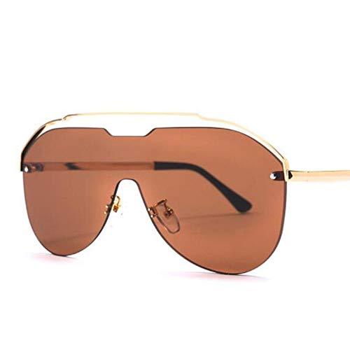 Yuanz Damen randlose Sonnenbrille Damenmode Luftfahrt Sonnenbrille weibliche männer gradienten Eyewear Shades,Y.