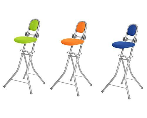 Ribelli Bügelstehhilfe Stehhilfe Stehstuhl 6-Fach höhenverstellbar klappbar Bügelstuhl Stehsitz...
