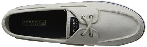 Sperry Top-Sider, Scarpe con lacci, donna bianco (Weiß (White))