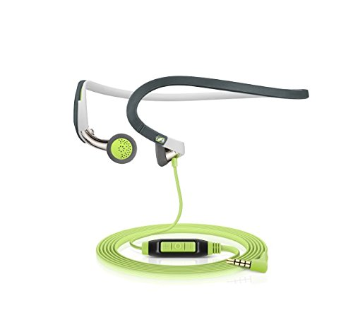 Sennheiser PMX 686G Sports Earbud Neckband Headset (Grey/Green)