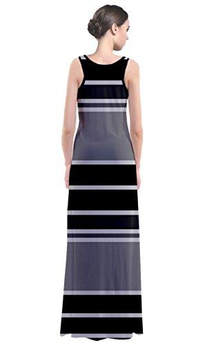 CowCow - Robe - Femme Multicolore Noir et blanc noir/gris