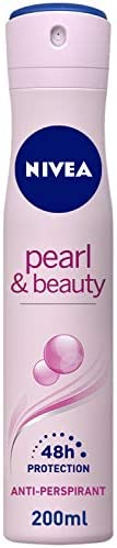 NIVEA Pearl & Beauty, Antiperspirant for Women, Pearl Extracts, Spray 2