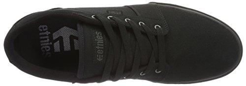 Etnies Barge LS Gum, Chaussures de Skateboard Homme Noir (Black Black Gum)