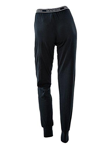 Pantaloni donna Emporio Armani lunghi, pantaloni, pantaloni, polsini di graduazione Marine