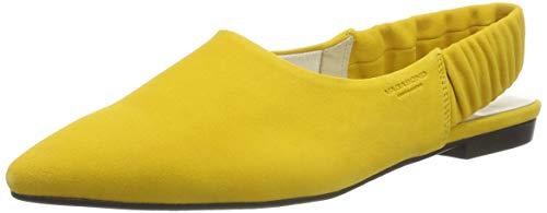 Vagabond Damen Katlin Slingback Pumps, Gelb (Yellow 53), 37 EU - Suede Slingback Schuhe