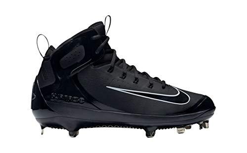 Nike Herren Baseball Cleat Alpha Huarache Elite, Schwarz (schwarz/schwarz), 43 EU M -