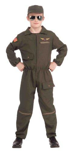 (Forum Fighter Jet Pilot Costume M)