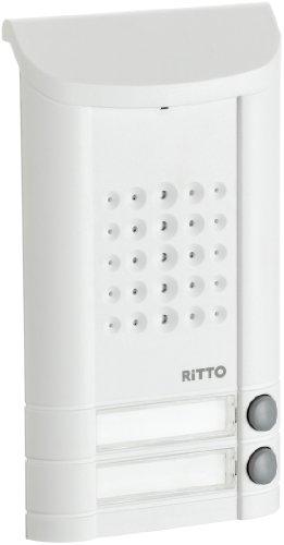 Ritto Minivox 1271042 Minivox Intercom System 2 Buttons White
