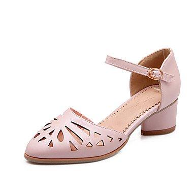 Zormey Frauen Schuhe Ferse Fersen/Round Toe Heels B¨¹ro & Amp Karriere / Kleid Blau/Rosa/Wei? US9 / EU40 / UK7 / CN41 rBkbrwIN