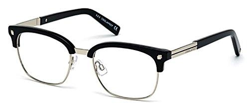 Occhiali da vista per unisex dsquared2 dq5148 001 - calibro 51