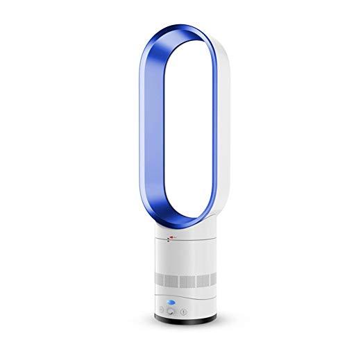 YSCCSY Verdunstungskühler, Luftkühler ohne Flügel, Luftbefeuchter mit negativem Ionen-Sicherheitsturm, stummer Lüfter, D 20 x 66 cm (8 x 26 Zoll),Blue