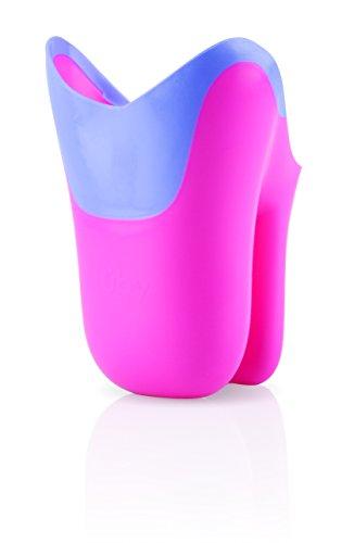 Nuby ID6138PINK - Recipiente para aclarar el cabello, color rosa y violeta