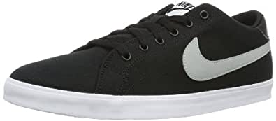 Nike  Eastham TXT, basket homme - Noir - Schwarz (Black/Base Grey-White), 44.5 EU