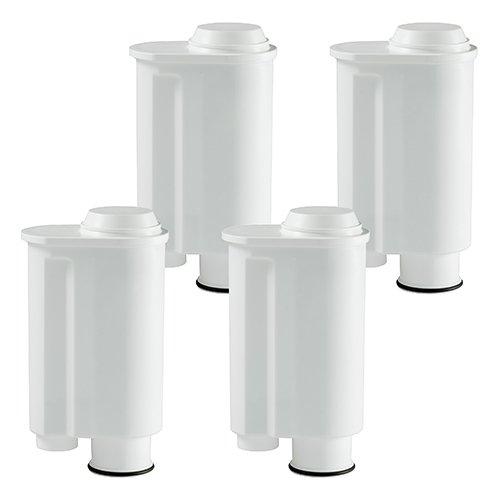 4 Wasserfilter-Patronen passend für Kaffeemaschinen von Saeco-Philipps-Intenza, Lavazza Gaggia, wie...