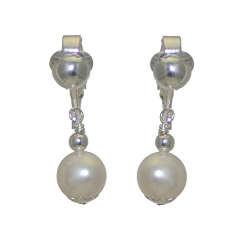 fresca-uno-plaquac-argent-10-mm-deau-douce-des-clip-perle-boucles-doreilles