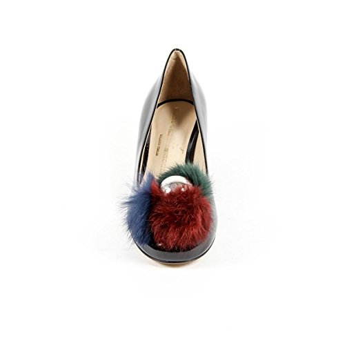 Versace 19.69 Abbigliamento Sportivo Srl Milano Italia, Damen Slipper & Mokassins Schwarz