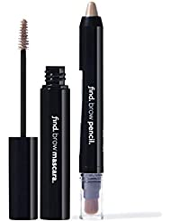 FIND - Eye Brow Kit - Blonde & Bold (Eye Brow Pencil With Kabuki no.1 and Eye Brow Mascara no.1)