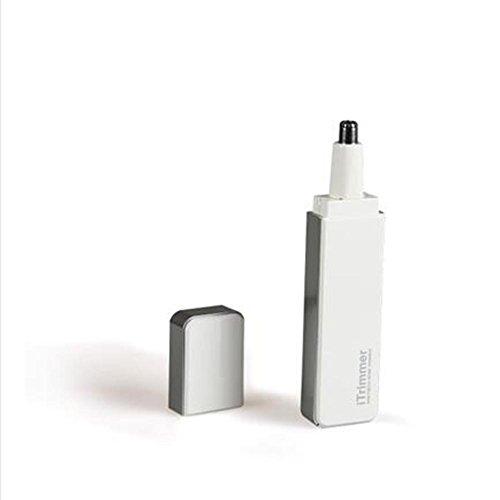 ZXLIFE@Nez électrique nez nez tondeuse n'est pas brodé tête en acier , Blanc