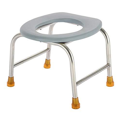 DYFFF Commode Mietklo Sitz Folding - Porta Potty und Toilettenstuhl - Comfort Chair Ideal for Camping, Wandern, Reisen, Baustellen und mehr