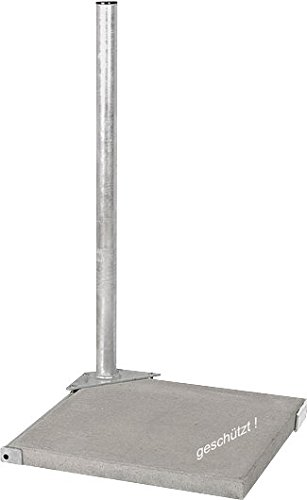herkules-balcony-stand-plate-stand-for-1-90-cm-length-hot-dip-galvanised-for-satellite-flagstone