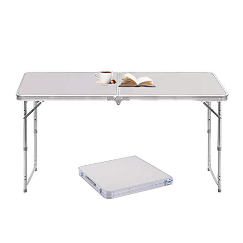 Sunreal Mesa Plegable de Aluminio portátil para Camping, al Aire Libre, Picnic/Barbacoa/Fiesta de jardín/Maletero de Auto conducción