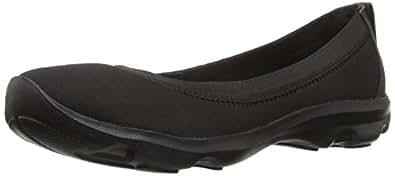 crocs Women's Busy Day Black/Black Ballet Flats-W10(203194)