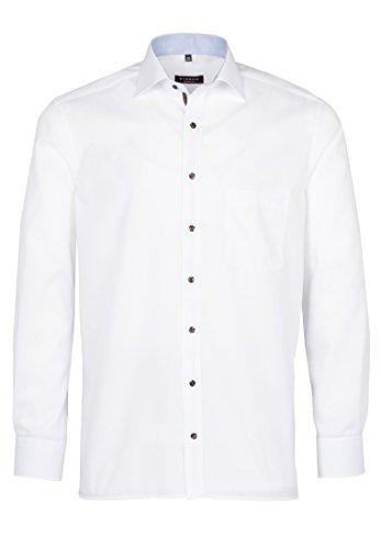 eterna -  Camicia classiche  - Basic - Classico  - Maniche lunghe  - Uomo Bianco (weiß 00)