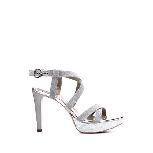 Nero Giardini Sandalo Donna MOD. P908490DE Ghiaccio 36