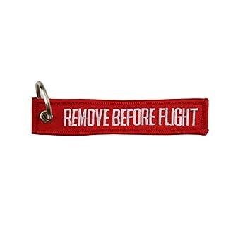 Yantec Schlüsselanhänger Remove Before Flight