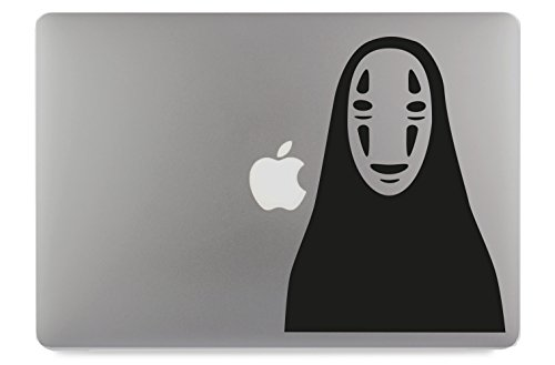 """Chihiros Geist Ohngesicht Kaonashi Aufkleber Skin Decal Sticker geeignet für Apple MacBook und alle Anderen Laptop und Notebooks (11"""")"""