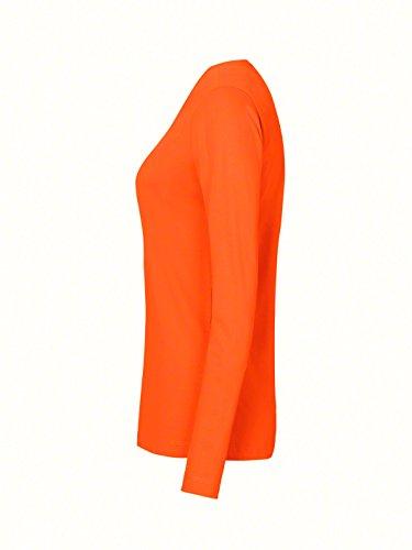 Women-Longsleeve Performance Orange