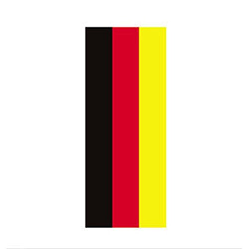 Car Stickers German/Italian/French National Flags Patterns Car Stickers Refitting Garland Style 2 Meters of Car Stickers for Bonnet and Ceiling