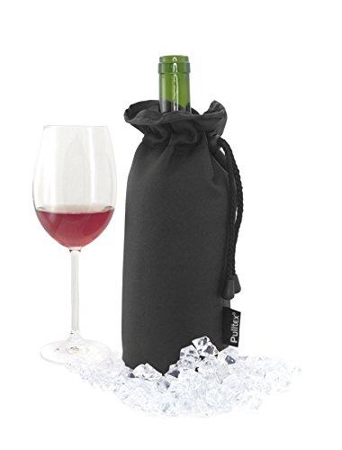 Pulltex Weinflaschenkühler Extreme, schwarz