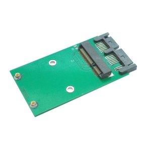 CY Mini PCI-E SSD mSATA vers 1.8Micro SATA 7+ 9adaptateur 16pin ajouter sur les cartes PCBA pour disque dur SSD de CY
